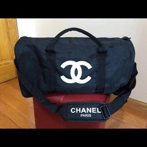 New chanel vip gift duffle bag